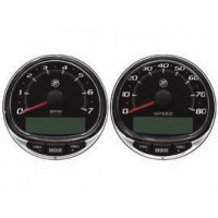 SC1000 Tach & Speed kit, glazen lens
