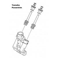 Powertrim cilinder reparatie set
