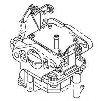carburateur F15 & F20 Mercury Mariner