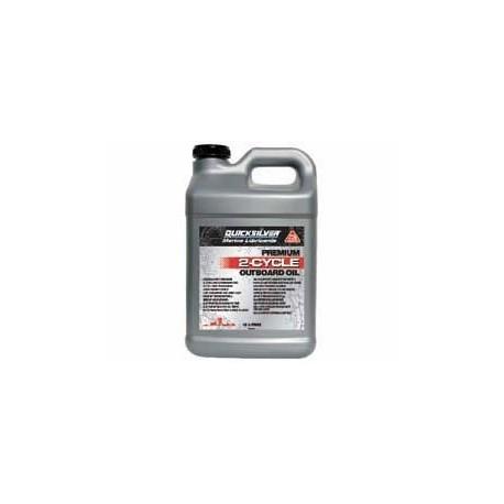 2 takt olie Quicksilver Premium TCW3  10 ltr