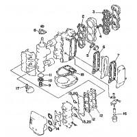 Pakkingset Yamaha 40V & 50H