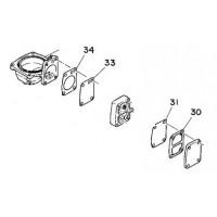 Diafragma & pakking set voor brandstofpomp