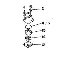 Waterpomp reparatie kit 20D & 25N