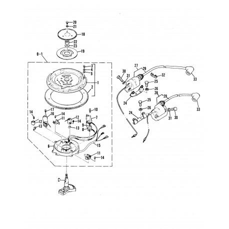 Yamaha & Mariner contactpunten