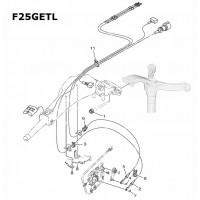 Montage/kabel set F25G