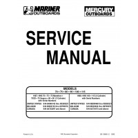 Mercury Service manual 75-90-100-115-125 pk 2 takt