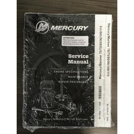 origineel mercury service manual 90 13645 2. Black Bedroom Furniture Sets. Home Design Ideas