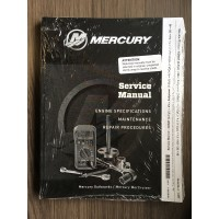 Mercury Service Manual 4 - 4.5 - 7.5 - 9.8 - 20 - 40 pk  2 takt