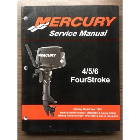 Goede Mercury Service Manual F4 F5 F6 fourstroke KU-61