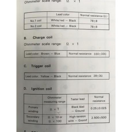 CDI unit 55A & 60C