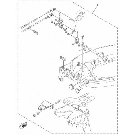 Aanbouwkit Yamaha F25A