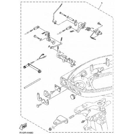 Aanbouwkit Yamaha F25D