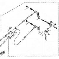 Aanbouwkit Yamaha 6C & 8C