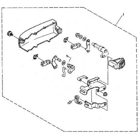 aanbouwkit Yamaha 25J & 30D