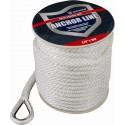 Ankerlijn dubbel gevlochten met touwsok