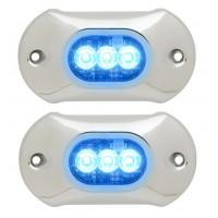 2 x Light Armor Onderwater verlichting 800 Lumens