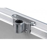 Roeidol houder aluminium Linder