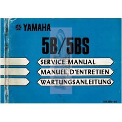 yamaha5B servic manual