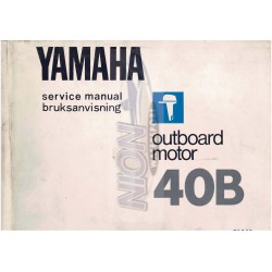 yamaha 40B service manual