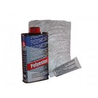 Polyester reparatie set 300 gr