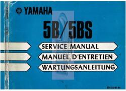 Service manual Yamaha outboard motor PDF