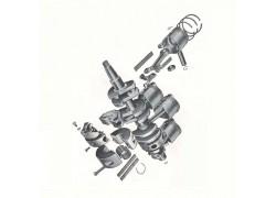 Vintage Mercury outboard parts list