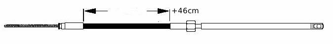 stuurkabel lengte